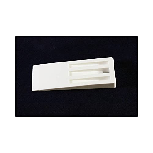 Car Builder Supply Fiberglass Mold Part Release Wedge White Plastic 6 x  2-1/8 x 3/4 inches
