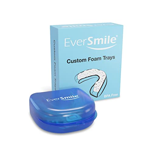 EverSmile Custom Foam Trays - Use With WhiteFoam & OrthoFoam  Cleans &  Whitens Orthodontic Appliances & Teeth (1 Pack)
