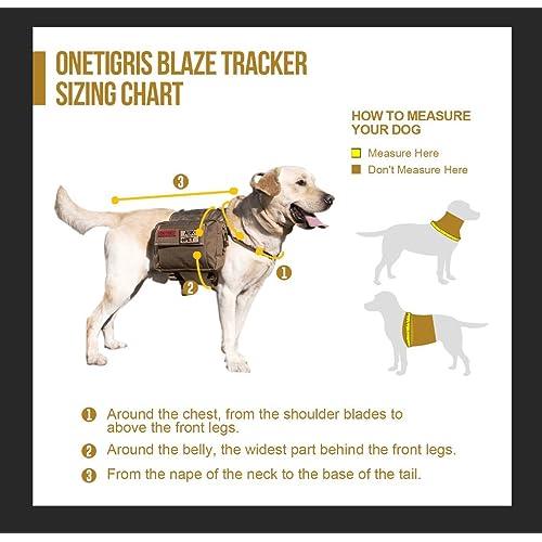 e88fde320fbb Buy OneTigris Dog Pack Hound Travel Camping Hiking Backpack Saddle ...
