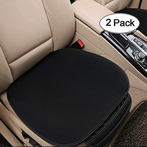 King phenix Car Seat Cushion with 1.2inch Comfort Memory Foam Gray Seat Cushion for Car and Office Chair