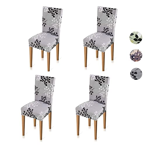 Prime Buy Xflyee Stretch Dining Room Chair Covers Jacquard Machost Co Dining Chair Design Ideas Machostcouk