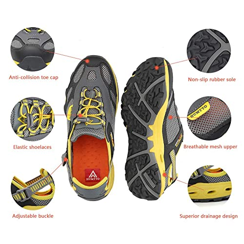 04017fdfd31ae Buy HUMTTO Mens Sport Strap Sandals-Hiking Canyoning aquatc ...