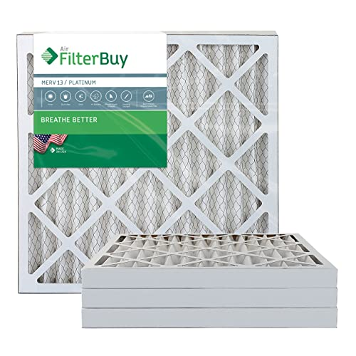 MERV 8, AFB Silver FilterBuy 21x24.5x5 Rheem Ruud PD540014 1 Pack. PD540020 Compatible Pleated AC Furnace Air Filters Fits air cleaner models RXHF-E24AM10 RXHF-E24AM13
